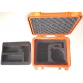 PEL1200-PRO-G7-O IsatPhone PRO Grab and Go Hard Case, for IsatPhone PRO, G7 Antenna and 2.4m cable kit, SAFETY ORANGE
