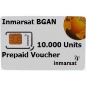 IN-01-BGAN-10000E BGAN 10,000 Unit e-voucher, 1yr Validity to use, extends access for a further 2yrs