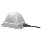 ST901066-ASA Skywave IDP-800 and IDP-100 Low Elevation Antenna, side-entry 5.0m cable with SMA-male connector
