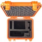 STARPAK-IR-9555-PEL1200-O Emergency Safety Orange Hard Case Kit, Protective Pelican 1200 and Starpak™ custom cut foam, for the Iridium 9555 Satellite Telephone