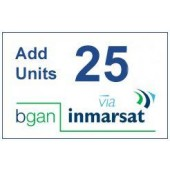 IN-01-BGAN-25E BGAN 25 Unit e-voucher, 1yr Validity to use, extends access for a further 2yrs