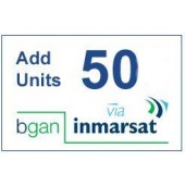 IN-01-BGAN-50E BGAN 50 Unit e-voucher, 1yr Validity to use, extends access for a further 2yrs