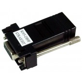 G0401083 Adapter, SENA Cable Straight, RJ45 to DB9F. Cable installation adapter