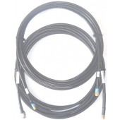 STARPAK-CABLE-236-MSS-KIT Cable Kit, LMR240 and LMR195 UltraFlex Low Loss by Times Microwave USA, both cables 6.0m(236in) Gold SMA-Male Connectors