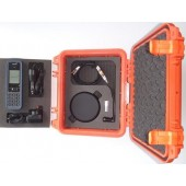 PEL1200-BNDL-PRO-G7-O IsatPhone PRO Grab and Go Hard Case, SAFETY ORANGE, includes Satellite Telephone, G7 Antenna and 2.4m cable kit