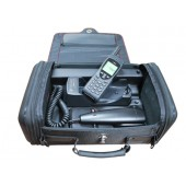 IR-01-9555RS Iridium 9555 RapidSAT Portable Docking Station, Hands Free, Carry in soft carry bag, optional back up battery